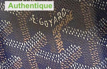 vintage patine sac goyard faux ou authentique ?