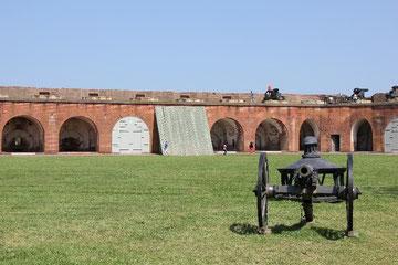 Foto Innenhof Fort Pulaski
