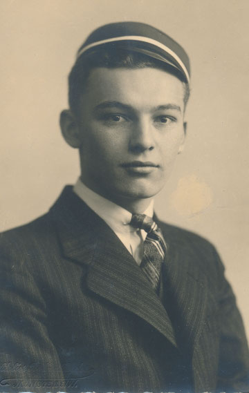 Abiturient um 1910