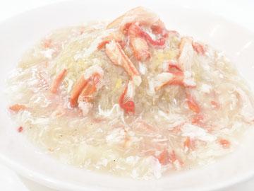 蟹あんかけ炒飯、蟹あんかけチャーハン、こだわり、安心安全、激辛、中華料理