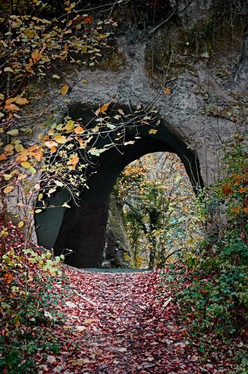 Höhlenlandschaft im Brohltal