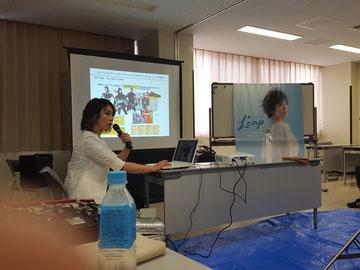 宮崎県理容組合のニューヘアー講習が、荒木美智子中央講師(佐賀)を招いて開催された(2019.7.29)