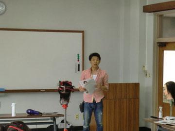 岡元信行県講師を招いて、宮崎県ニューヘアー実技講習会(県南地区)が開催された(2018.9.3)