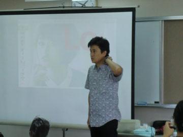 武藏均中央講師(千葉)を招いて、宮崎県のFHCの講習会が開催された(2018.8.27)