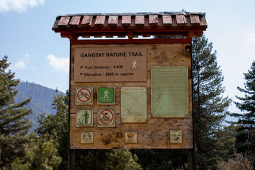 Gangtay Nature Trail
