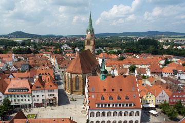 Foto: Luftbild Johannesviertel, H&B Fotoprojekte
