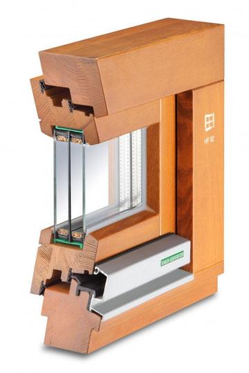 infisso legno alluminio kneer sondrio