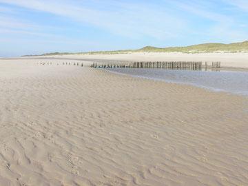 Der Strand beim Klappholttal