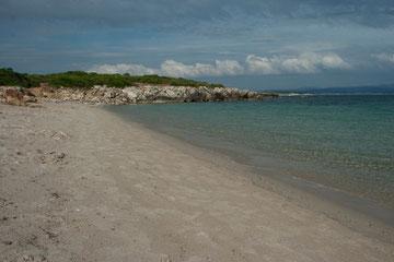 Spiaggia del Lazzaretto (8 km)