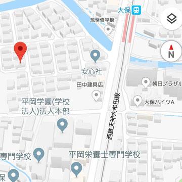 天神大牟田線 大保駅より徒歩5分