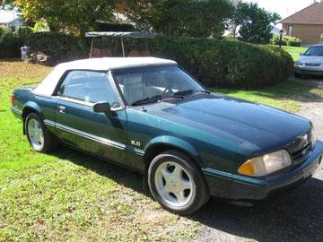 Mustang Gt 1990 d'André Dufour  ¤