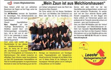 Weyher Magazin / Leester Werbegemeinschaft