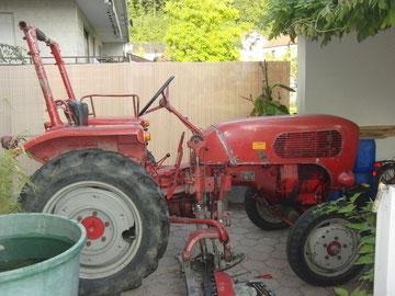 Traktor Güldner Spessart A2KS