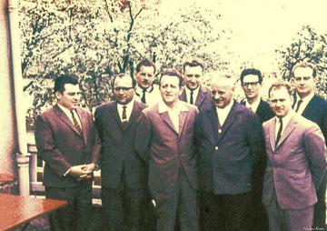 Das Gründungsfoto im Jahr 1966
