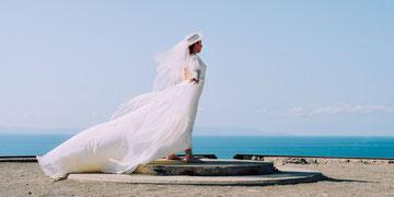 Hut bei der Hochzeit
