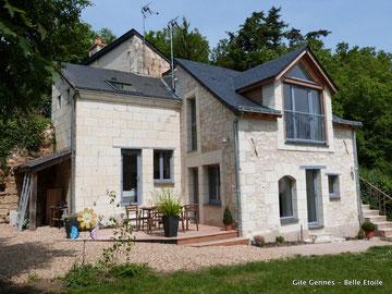 Beau gîte de caractère à Gennes entre Saumur et Angers en Val de Loire