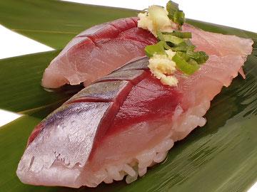 ムロアジのにぎり寿司