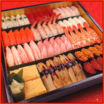 お正月は毎日営業します。美味しいお寿司をお届けします。