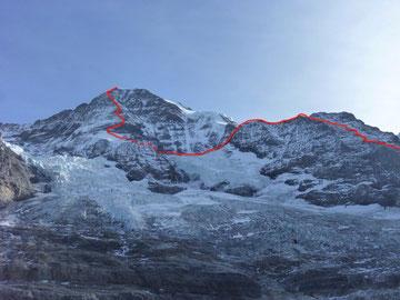 Mönch, Nordwand, Lauper, Northface, Guggihütte