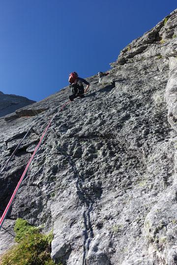 Piz Badile, Nordwand, Via Cassin