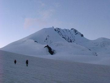 Rimpfischhorn, Rimpfischsattel, Täschhütte, Mellichgletscher