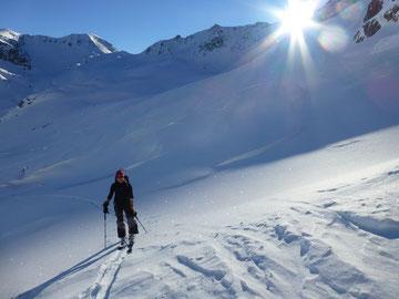Skitour, Flüela Schwarzhorn, Davos, Flüelapass, Graubünden