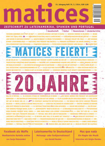 Matices 79: Matices feiert 20 Jahre.