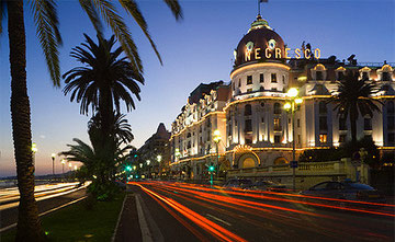 Negresco and the Promenade in Nice