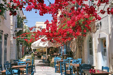 Typical Syros Tavernas
