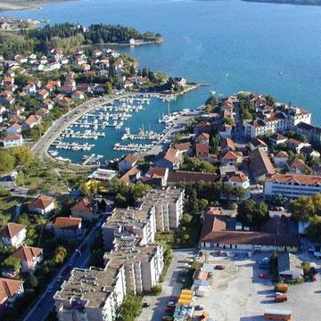 The natural harbour of Tivat - The Kalimanj Marina