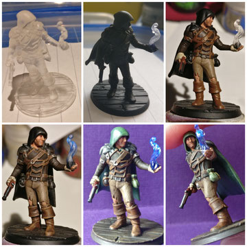 MarTiny Creations - Painting tabletop game character