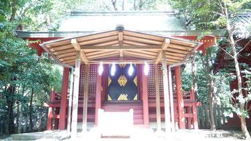 武蔵国一の宮・氷川神社「門客人神社」(埼玉県さいたま市)