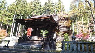 新海三社神社・東本社(長野県佐久市)