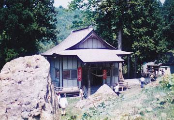 石塔山大山積神社(青森県津軽市)