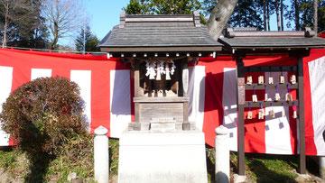 二宮神社摂社「荒波々伎神社」(東京都あきるの市)
