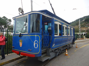 Симний трамвай, Барселона