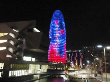 Башня Агбар - достопримечательности Барселоны