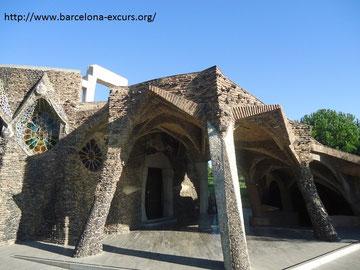 Крипта Колонии Гуэль в Барселоне