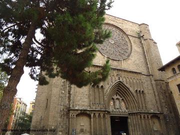 Церковь Санта Мария дель Пи в Барселоне