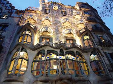 Дом Батльо  подсветка фасада