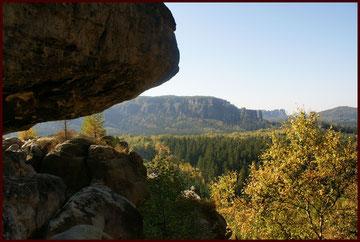 Nicht weit von Dresden entfernt  liegt die sächsische Schweiz