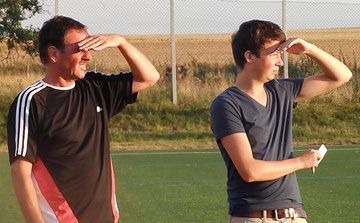 Trainer Remo Senft und SPA Till Schwalbach auf der Suche nach dem Spielfluss vom Sonntag