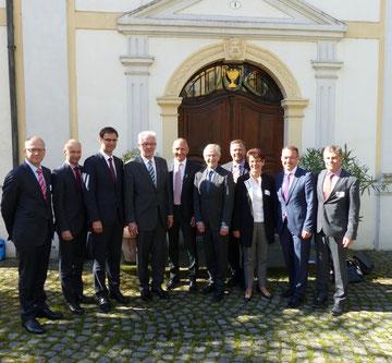 Kamingespräch der IBK-Regierungschefs und Regierungsvertreter