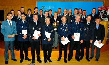 Blaulichtempfang 2015 im Landratsamt Lindau (Bodensee)