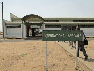 Kasane Flughafen