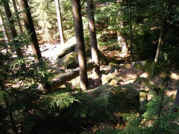 Im Ebersberger Felsenmeer