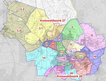 Wahlbezirke 2020