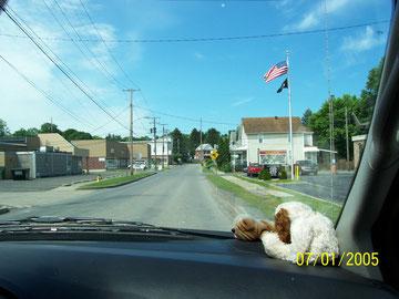 Driving through Du Bois