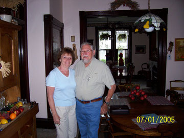 Pastor Charles Myers and Jean Myers