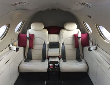 Cabine du Cessna Citation Mustang